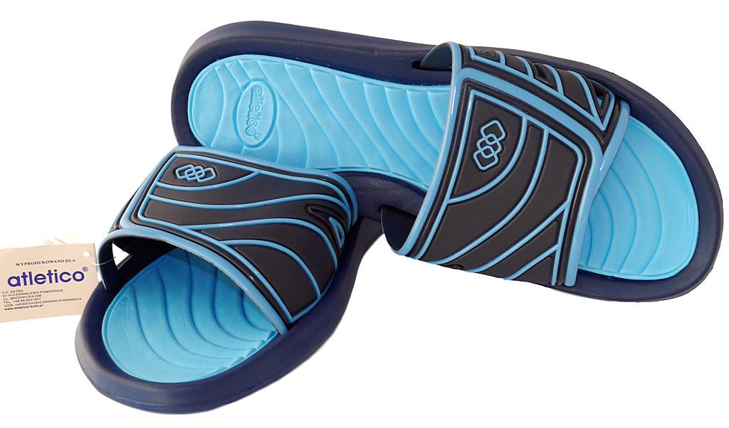 6d6c06e0238b2 Klapki basenowe męskie Atletico HZ blu r.47-49