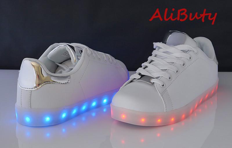 Buty sportowe damskie świecące LED W19 sv